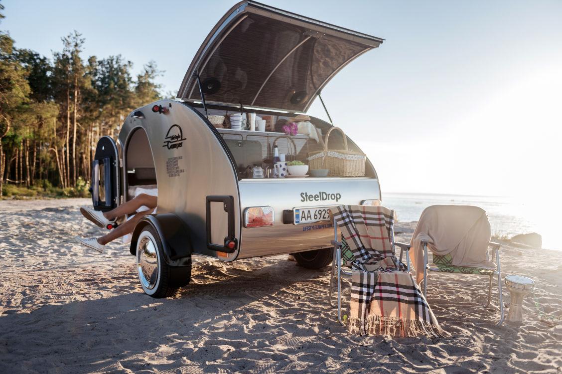 Půjčovna karavanů - SteelDrop